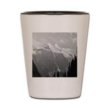 Canadian Mountains Shot Glass