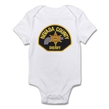 Nevada County Sheriff Infant Bodysuit
