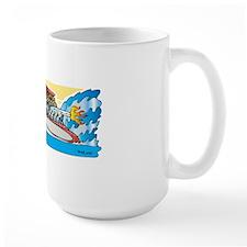 Creekrat_CARtoons_Drag_Boat-M Mug