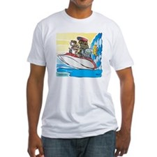 Creekrat_CARtoons_Drag_Boat-S Shirt
