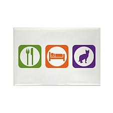 Eat Sleep Sokoke Rectangle Magnet