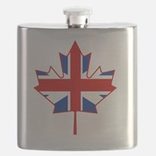 British in Canada Flask