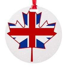 British in Canada Ornament