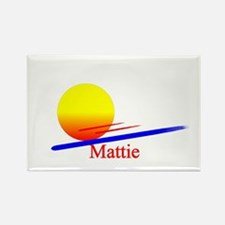 Mattie Rectangle Magnet