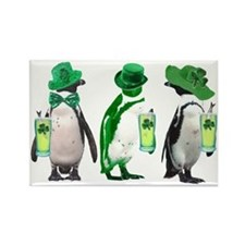 irishpenguins Rectangle Magnet