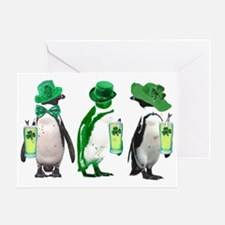irishpenguins Greeting Card