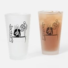 LIVINGIMPAIREDinverted2 Drinking Glass