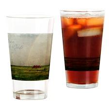 rainbow02 Drinking Glass