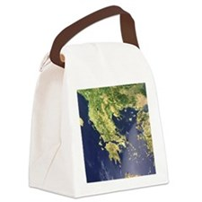 greece_satellite_2_2000 Canvas Lunch Bag