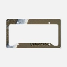 home sweet home License Plate Holder