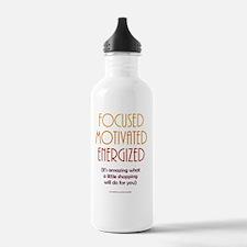 Focused Motivated Ener Water Bottle