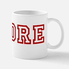 Whore wboyshort red Mug