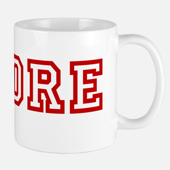 Whore wboyshort red Mug