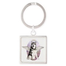 angelwithwings2 Square Keychain