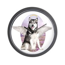 angelwithwings2 Wall Clock