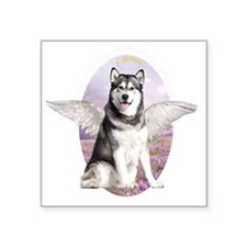 "angelwithwings2 Square Sticker 3"" x 3"""