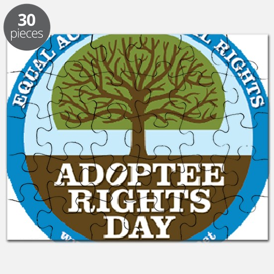 Giant Adoptee Rights Stickers Puzzle