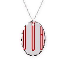 dubstep-01a Necklace Oval Charm
