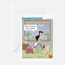 diaper_vac Greeting Card