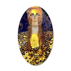 RM Klimt 32 35x21 Oval Wall Decal