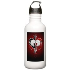 Love4_LPoster Water Bottle