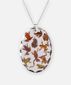 Tree Frogs Necklace