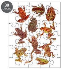 Tree Frogs Puzzle