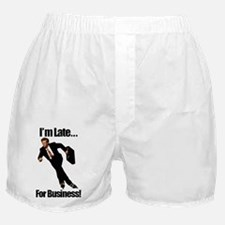 latetext Boxer Shorts