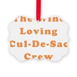 Cul de sac Picture Frame Ornaments
