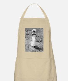 If-you-knew Apron