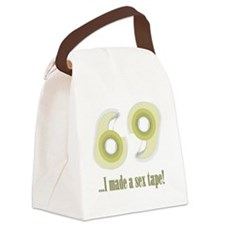 sextapeEXTRAS Canvas Lunch Bag