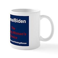 LARGER Obama The Thinking Womans Choice Mug