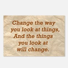 Change-the-way Postcards (Package of 8)