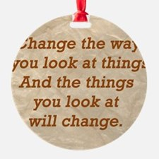 Change-the-way Ornament