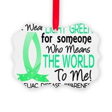 Means The World To Me Celiac Dise Ornament