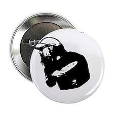 "Rockinthrowingstencil 2.25"" Button"
