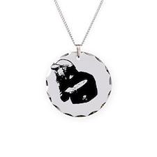 Rockinthrowingstencil Necklace