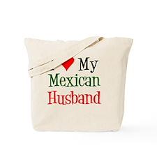 Love My Mexican Husband Tote Bag