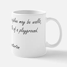 catholic playground Mug