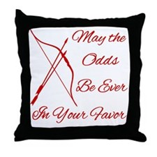 Odds-Be-Ever-Brighter Throw Pillow