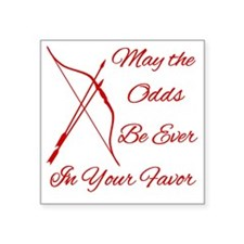 "Odds-Be-Ever-Brighter Square Sticker 3"" x 3"""
