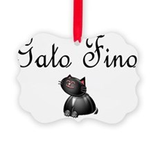gato fino 1 Ornament