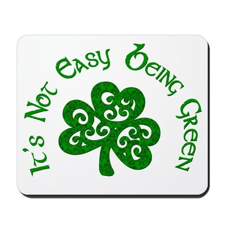being green Mousepad