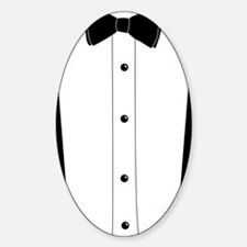 Tuxedo7X7 Sticker (Oval)