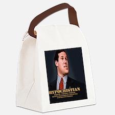 santorum-caric-TIL Canvas Lunch Bag
