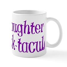 purple dot tacular hat Mug