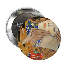"NC Klimt 1 2.25"" Button"