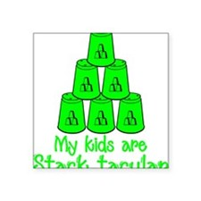 """neongr Stack-tacular Square Sticker 3"""" x 3"""""""
