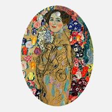 NC Klimt 2 Oval Ornament
