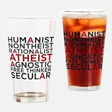 atheistblock Drinking Glass